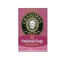 Grandpa's Patchouli Soap With Aloe Vera (1x3.25 Oz)