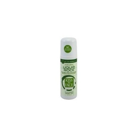 Kiss My Face Liquid Rock Roll On Cucumber & Green Tea Deodorant (3 Oz)
