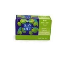 Beso mi cara jabón de barra pura de aceite de oliva (1 x 8 Oz)