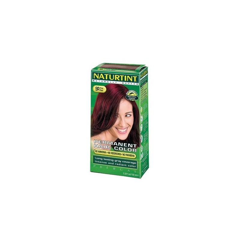 Baño De Color Rojo Fuego:Color de pelo rojo de fuego Naturtint 9r (1xkit) – Greens2U