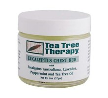 Tea Tree terapia eucalipto pecho Rub (1 x 2 Oz)