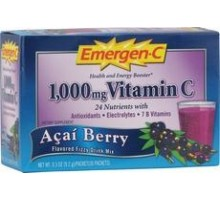 Acai de Bluberry alacer Emergen-c (30 Ct)