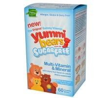 Hero Nutritionals Yummy lleva multi vitamina y Mineral del azúcar libre (60 Ct)