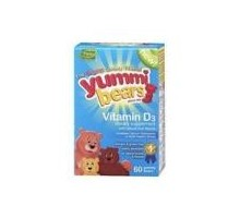 Hero Nutritionals Yummi osos vitamina D3 (1 x 60 Ct)