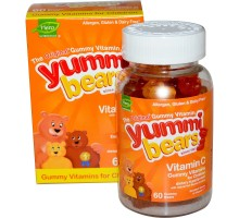 Hero Nutritionals Yummi Bears Vitamin C (1x60 Bears)