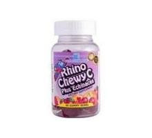 Nutrición ahora Rhino masticable C Plus Echinacea (1 x 60 mastique)