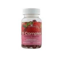 Nutrición ahora Gummy vitaminas del complejo B (1 x 70 Ct)