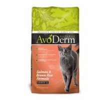 Avoderm Natural Salmon & Brown Rice Cat Food (6x3.5 Lb)