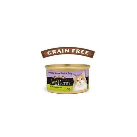 Avoderm Natural Salmon & Chicken Entree In Gravy Cat Food (24x3 Oz)