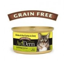 Avoderm Natural Chicken & Duck Entree In Gravy Cat Food (24x3 Oz)