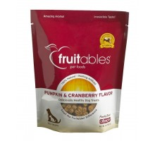 Fruitables Pumpkin & Cranberry Mix Dog Treats (8x7 Oz)