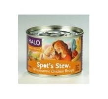 Halo Dog Chicken Spots Stew (12x5.5 Oz)