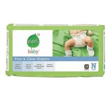 Séptima generación bebé pañales recién nacido a 10 (4 x 36 Ct)