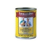 De Newman propia Turquía & Br Rc perro comida (12x12.7 Oz)