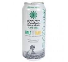 Steaz cero calorías N mitad mitad Iced Tea (12 x 16 Oz)