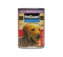 Pet Guard Adult Dog Canned Lamb & Brown Rice (12x14 Oz)
