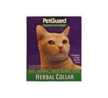 Guardia del animal doméstico Collar hierbas para gatos (1x.46 Oz)