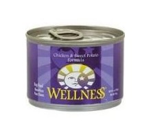 Wellness Sweet Potato & Chicken Canned Dog Food (12x12.5 Oz)