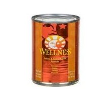 Wellness Turkey & Sweet Potato Canned Dog Food (12x12.5 Oz)