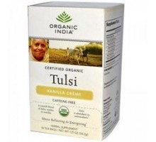Organic India Vanilla Creme Tulsi Tea (6x18 Ct)