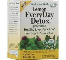 Limón orgánico tradicional medicinales todos los días de desintoxicación (bolsa 6 x 16)