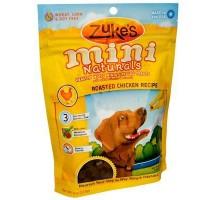 Naturals Mini pollo de Zuke perro trata (12 x 6 Oz)