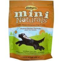 Mantequilla de maní de Zuke Naturals Mini perro trata (12 x 6 Oz)