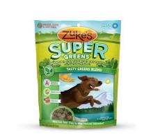 Súper suave mezcla verde perro golosinas de Zuke (12x3oz)