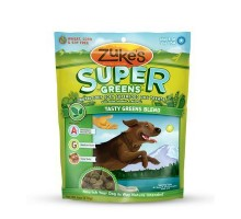 Zuke's Soft Superfood Green Blend Dog Treats (12x3oz)