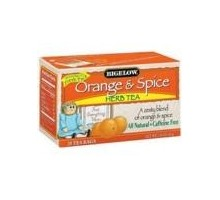 Bigelow naranja y té de hierbas de la especia (6 x 20 bolsa)