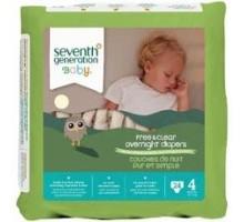 Séptima generación Baby noche pañales etapa 4 (4 x 24 Ct)