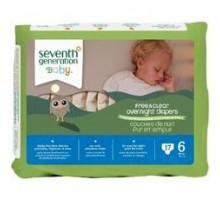 Séptima generación Baby noche pañales etapa 6 (Ct 4 x 17)