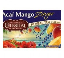 Celestial Seasonings Acai Mango Zinger Herb Tea (6x20bag)