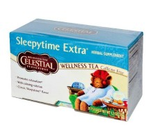 Té de hierbas de condimentos celestiales Sleepytime Extra (6x20bag)