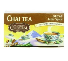 Celestial Seasonings Original India Decaf Chai Tea (6x20bag)