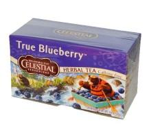 Condimentos celestiales verdadero arándano té de hierbas (6 x 20 bolsa)