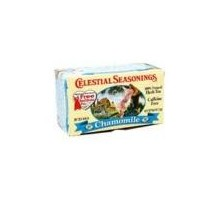 Té de hierba de manzanilla condimentos celestiales (6 x 20 bolsa)