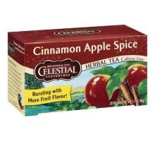 Té de hierbas de condimentos celestiales manzana canela especia (6x20bag)