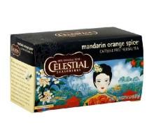 Té de hierbas de especias condimentos celestiales mandarina (6x20bag)