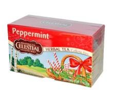 Té de hierbas de menta condimentos celestiales (6x20bag)