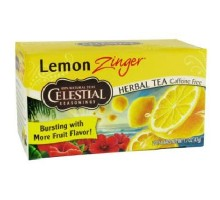 Condimentos celestiales té de hierba limón Zinger (6x20bag)