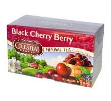 Té de hierbas de cereza negra Celectial condimentos (6x20bag)