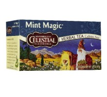 Té de hierbas mágicos de menta condimentos celestiales (6x20bag)