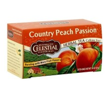 Té de hierbas de condimentos celestiales país pasión melocotón (6x20bag)