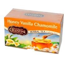 Té de hierbas de condimentos celestiales miel manzanilla vainilla (6x20bag)