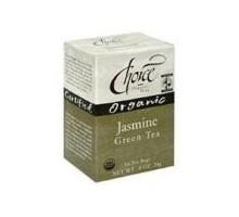 Tés orgánicos elección té verde jazmín (6 x 16 bolso)