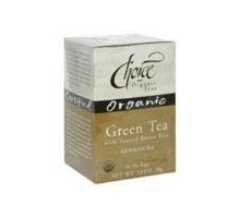 El té verde tés orgánicos opción Org tostadas arroz (6 x 16 bolso)
