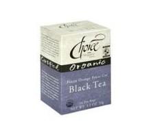 Tés orgánicos Choice Ft té negro (6 x 16 bolso)