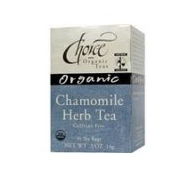 Choice Organic Teas Chamomile Herb Tea (6x16 Bag)