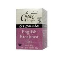 Opción tés orgánicos té de desayuno inglés Ft (6 x 16 bolso)